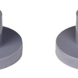 Fort stofkap voor kruiwagenwiel kort 28 mm.
