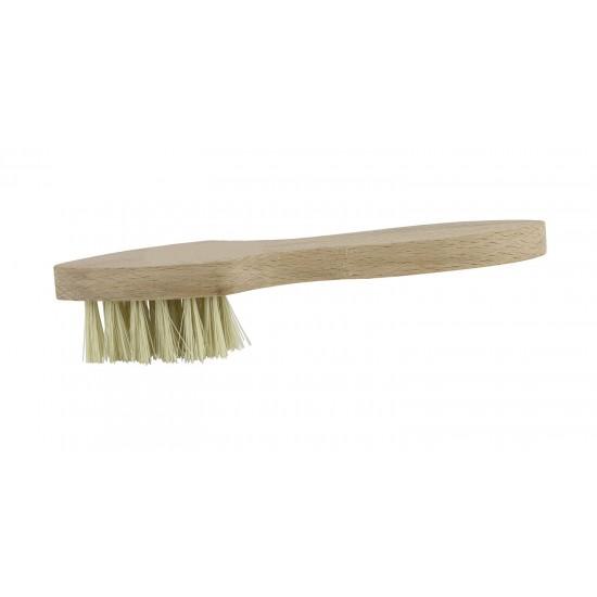 Insmeerborstel wit haar