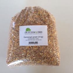 Gemengd graan met gebroken mais (4 kg)