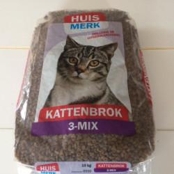 Kattenvoer Krokant 3-mix (10 kg)