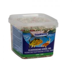 """Vissenvoer """"Darwin"""" vijvervoeding korrel mix: L (5 kg)"""