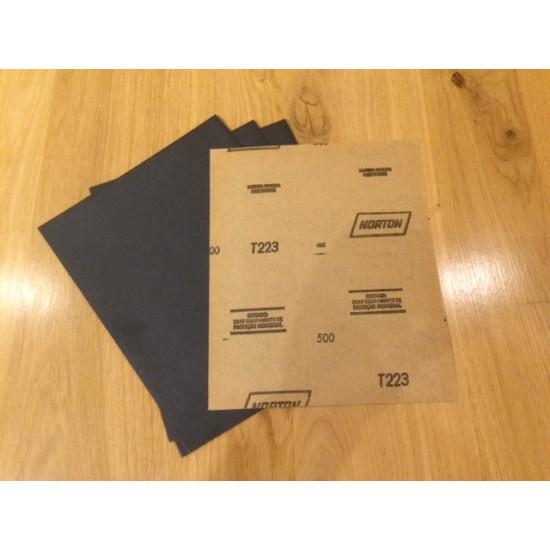 Norton schuurpapier T223 waterproof (500)