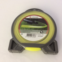 Trimmerlijn 1,6 mm. (15 mtr) geel