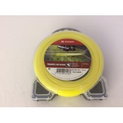Trimmerlijn 2,65 mm. (15 mtr) geel