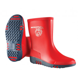 Dunlop kinderlaarzen mini K131510 rood
