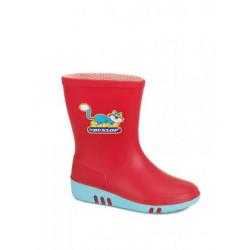 Dunlop kinderlaarzen K130 514 rood/blauw 20