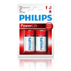 Philips Batterijen LR14 alkaline (2 st.)