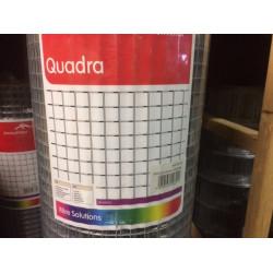Gaas Quadra verzinkt 13,0 x 13,0 x 500 x 0,8 mm (per meter)