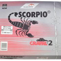 Puntdraad (Scorpio) 1.7 (100 mtr.)