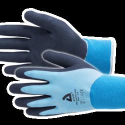 Werkhandschoenen Pro-water grip blauw maat 10