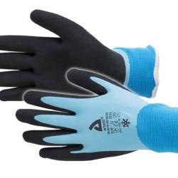 Werkhandschoenen Pro-water grip winter blauw maat 11