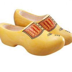 Klompen geel (populier) VV mt. 20