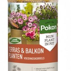 Pokon voedingskorrels terras/balkon (1800 gram)