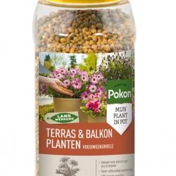 Pokon voedingskorrels terras/balkon (800 gram)