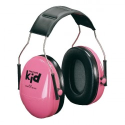 Peltor gehoorbeschermer Kids fluor roze
