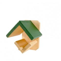 Pindakaaspothouder (hout)