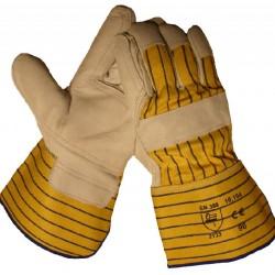 Werkhandschoenen Boxleer palm + duim +wijsvinger 10.194