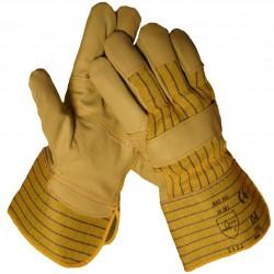 Werkhandschoenen meubelleer nerf 10.181 maat 11 XL