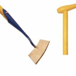 De Wit ronde schoffel 12 cm. met schoffelsteel + hilt 160x3,2 cm.