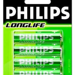 Philips batterijen R6 longlife