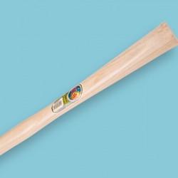 Rubberhamersteel Lengte: 40 cm Kopmaat: 39 x 34 mm