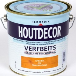 Hermadix Houtdecor transparante beits (2,5 Ltr.) 652 Grenen