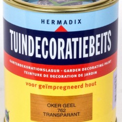 Hermadix Tuindecoratiebeits (750 ml.) 762 Oker geel
