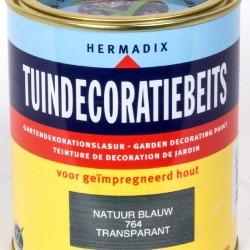 Hermadix Tuindecoratiebeits (750 ml.) 764 Natuur blauw