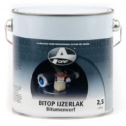 OAF Black varnish (Bitop IJzerlak) (2,5 Ltr.)