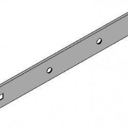 Heng verzinkt GB 600 mm.