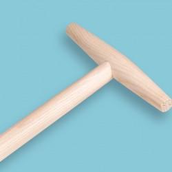 Rieksteel 80 cm. met grote hilt (25 cm)