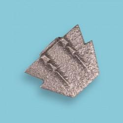 Hamerwig Nr. 5 (metaal) plat 44 mm