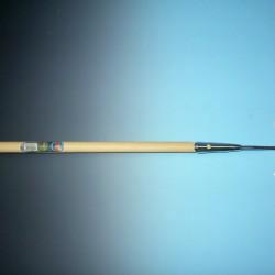 Schoffel rond model verzinkt 14 cm. met steel 160x2,8 CM. MET HILT.