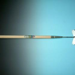 Schoffel hart model verzinkt 14 cm. met steel 160 cm. + hilt