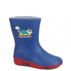 Dunlop kinderlaarzen K151314 blauw maat 21