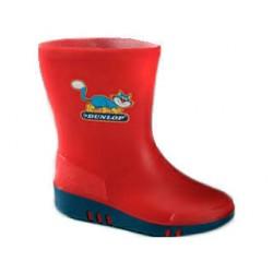 Dunlop kinderlaarzen K131514 rood/blauw 26