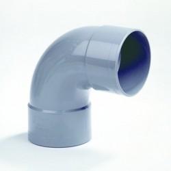 PVC Bocht 125 mm mof/mof 90° LV