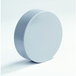 PVC Afsluitkap passend om de buis 90 mm
