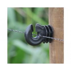 Koltec schrikdraad 250 mtr. 2 mm. zwart