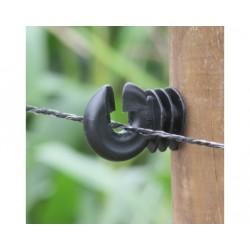Koltec schrikdraad zwart 200 mtr. 3,5 mm.