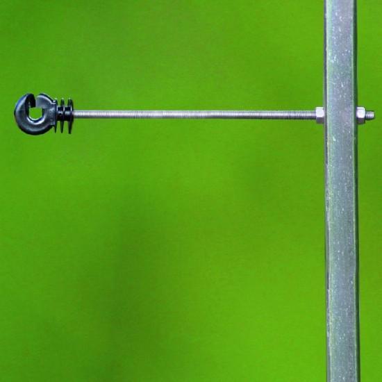 Koltec afstandsring-isolator 22 cm, met schroefdraad voor draad