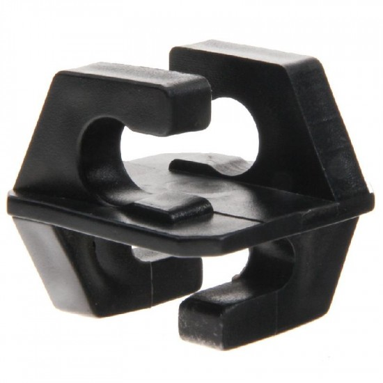 Koltec klik-isolator zwart voor isolatorsteun tbv volieres (p/st.)