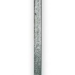 Koltec weidepaal hoekpaal (130 cm) ijzer/groen M12