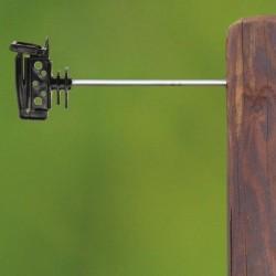 Koltec afstand lint-isolator 22 cm. voor houten paal