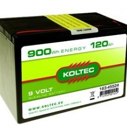 Koltec batterij 9V-120Ah Alkaline
