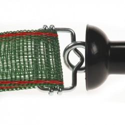 Koltec poortgreep met lintverbinder