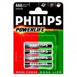 Philips batterijen LR03/AM4 (AAA)
