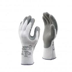 Werkhandschoenen Showa thermo 451 grijs