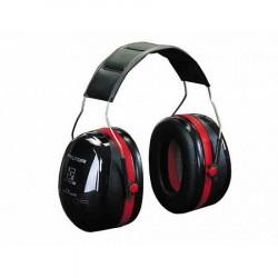 Peltor gehoorbeschermer Optime III zwart/rood