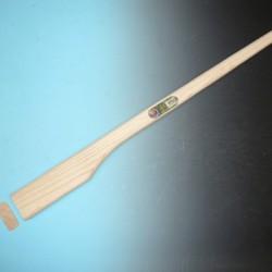 Bijlsteel (recht) lengte: 110 cm kopmaat: 90 x 40 mm (321250)